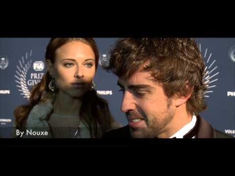 Fernando Alonso : un seigneur au Gala de la FIA 2013