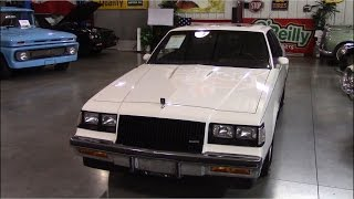 1987 Buick Regal T-Type 3.8 Turbo | Short Tour & Start Up