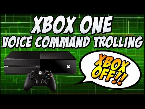 XBOX One Voice Command Prank (XBOX OFF, XBOX SNAP)