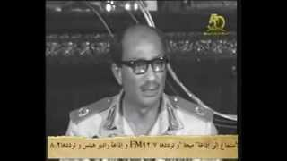 نادر | شاهد.. أول خطاب للرئيس الراحل