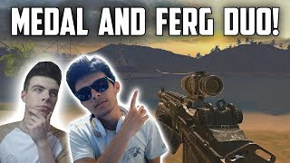 MEDAL AND FERG DUO IN SQUADS! - Rules of Survival: Battle Royale