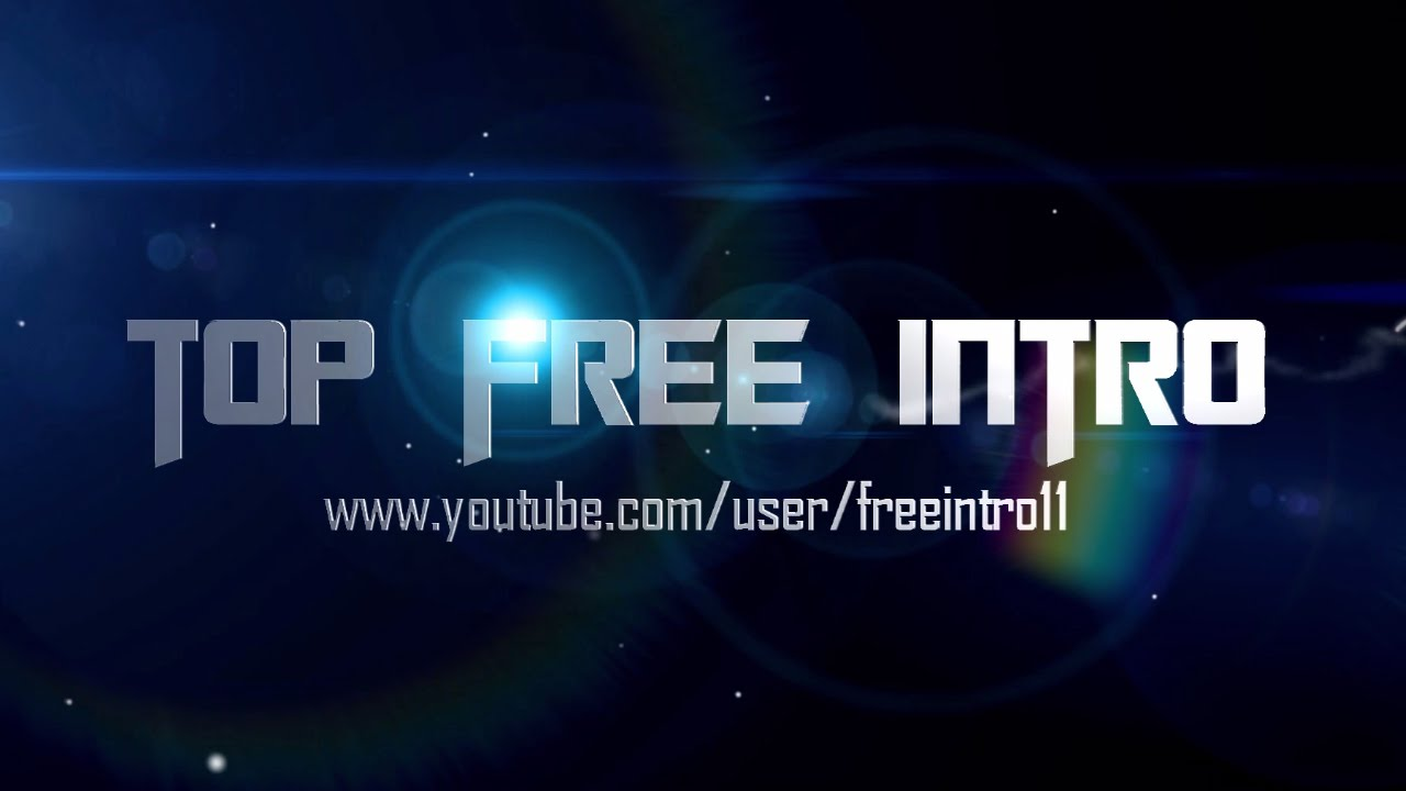 Free intro template