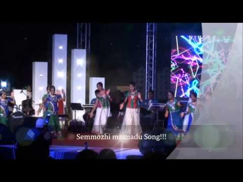 Anushri & Dhanishtas Performance for Semmozhi Song & The Ectasy...