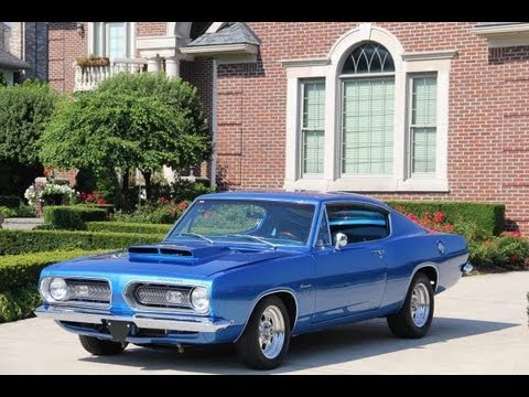 1968 plymouth barracuda classic muscle car for sale in mi for Vanguard motors plymouth michigan