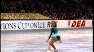 Oksana Baiul - Nations Cup 1992 - FS