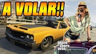 GTA V - Como Salir Volando Con Tu Coche En Grand Theft Auto V - Glitch (GTA 5)