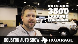 2019 RAM HD 3500 Laramie Longhorn from the Houston Auto Show