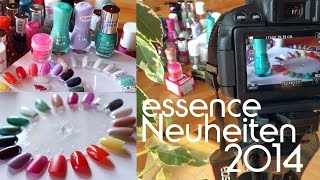 Die essence Neuheiten | Nagellacke | colour & go + Thermo Nail Polishes im Live Test