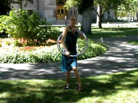How To Fold Figure 8 Hula Hoop