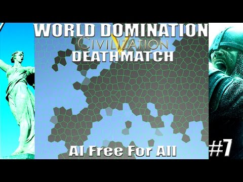 Civ 5: World AI Only Free For All Deathmatch # 7