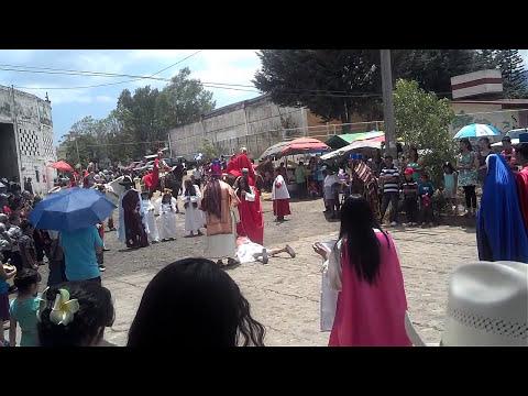 Semana santa en Acuitzio del Canje Michoacan 2014