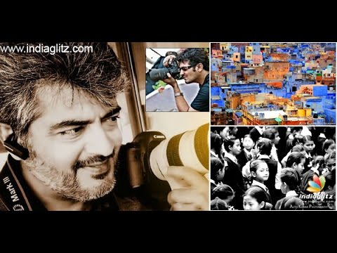 Ajith Kumar Photography Is Big On Buzz , Get A Glimpse On His Passion | Thala 55 video