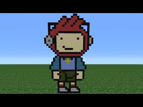 Minecraft Tutorial: How To Make Maxwell Scribblenauts