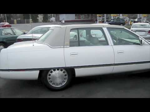 1996 Cadillac Sedan Deville Start Up. Exhaust. and In Depth Tour