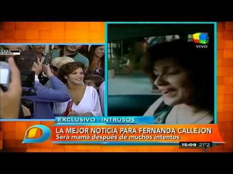 La emoción de María Fernanda Callejón