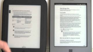 Kindle Touch vs. Nook Simple Touch Comparison