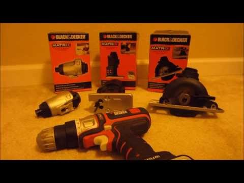 Black & Decker Matrix Quick Connect System
