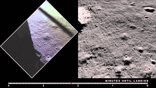 Apollo 11 Descent: Film and LRO Imagery