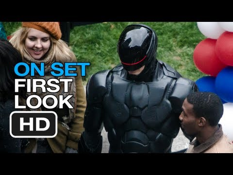 RoboCop - On Set First Look (2013) Samuel Jackson Gary Oldman Movie HD
