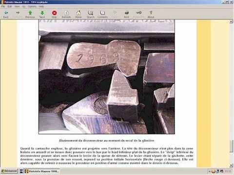 Les Pistolets Mauser 1910 - 1914 expliqués - HLebooks.com