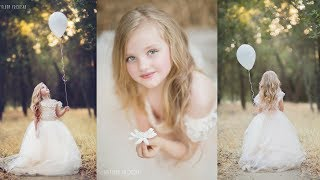 Amazing Creative Portraits Photoshoot with Beautiful Little Princesses, kids photography
