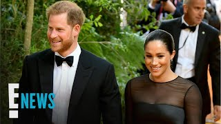 "Meghan Markle & Prince Harry Greet Beyonce at U.K. ""Lion King"" Premiere 