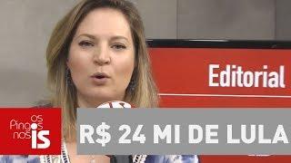 Joice: MPF pede mais R$ 24 mi de Lula. Ele é um bandido perigoso