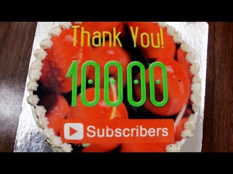 Black Forest Ice Cream Cake | 10000+ Subscribers Celebration | Eggless Baking