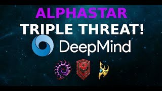 AlphaStar's TRIPLE ACTION!