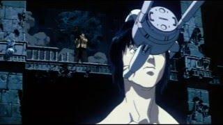 Ghost in the Shell movie best scene Motoko vs Tank