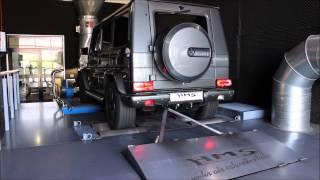 Mercedes Benz G 63 AMG V8 Bi Turbo mit HMS Performance Klappenabgasanlage