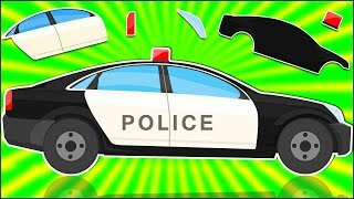 Police Car Formation And Uses Videos | Cars For Kids and Babies