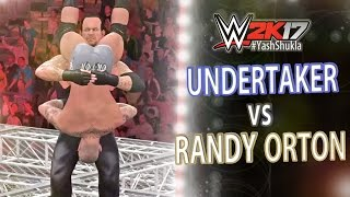 WWE 2K17 Undertaker vs Randy Orton | HELL IN A CELL Match | PS4 Gameplay