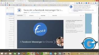 شرح إستخدام برنامج فيسبوك ماسنجر على الكمبيوتر pc