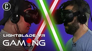 Star Wars Wannabes: LightBlade VR with Josh and Kristian - Collider Gaming