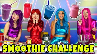 THE SUPER POPS SMOOTHIE CHALLENGE EAT ONLY ONE COLOR OF FOOD. Totally TV Originals