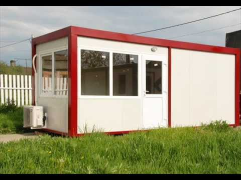 Bureaux de chantier bureaux conteneurs bureau youtube for Maison conteneur youtube
