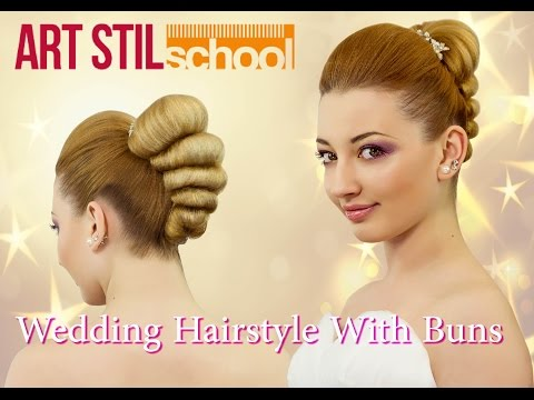 Wedding Hairstyle With Buns