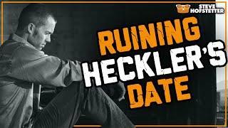 Heckler's First Date Ended By Comedian (Bumble heckler) - Steve Hofstetter