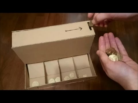 How to Make Sorting Machine for Coins
