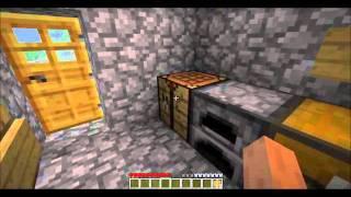 Minecraft tutorial wie man eine Holzaxt baut
