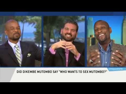Alonzo Mourning Says who Wants To Sex Mutombo? Is True! video