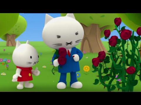 МУСТИ - Развивающие мультфильмы про котят - Розы и Шипы - мультики малышам