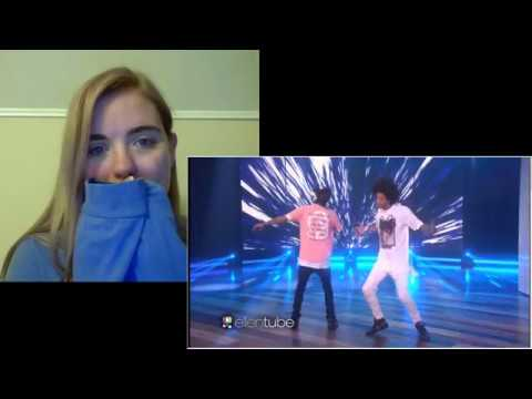Les Twins Perform! On Ellen Reaction - ReplayMae