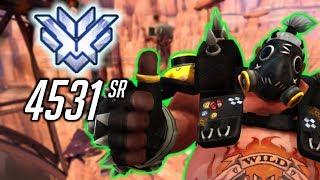 ROADHOG Route 66 Overwatch SEASON 4 ALMOST OVER 4531 SR