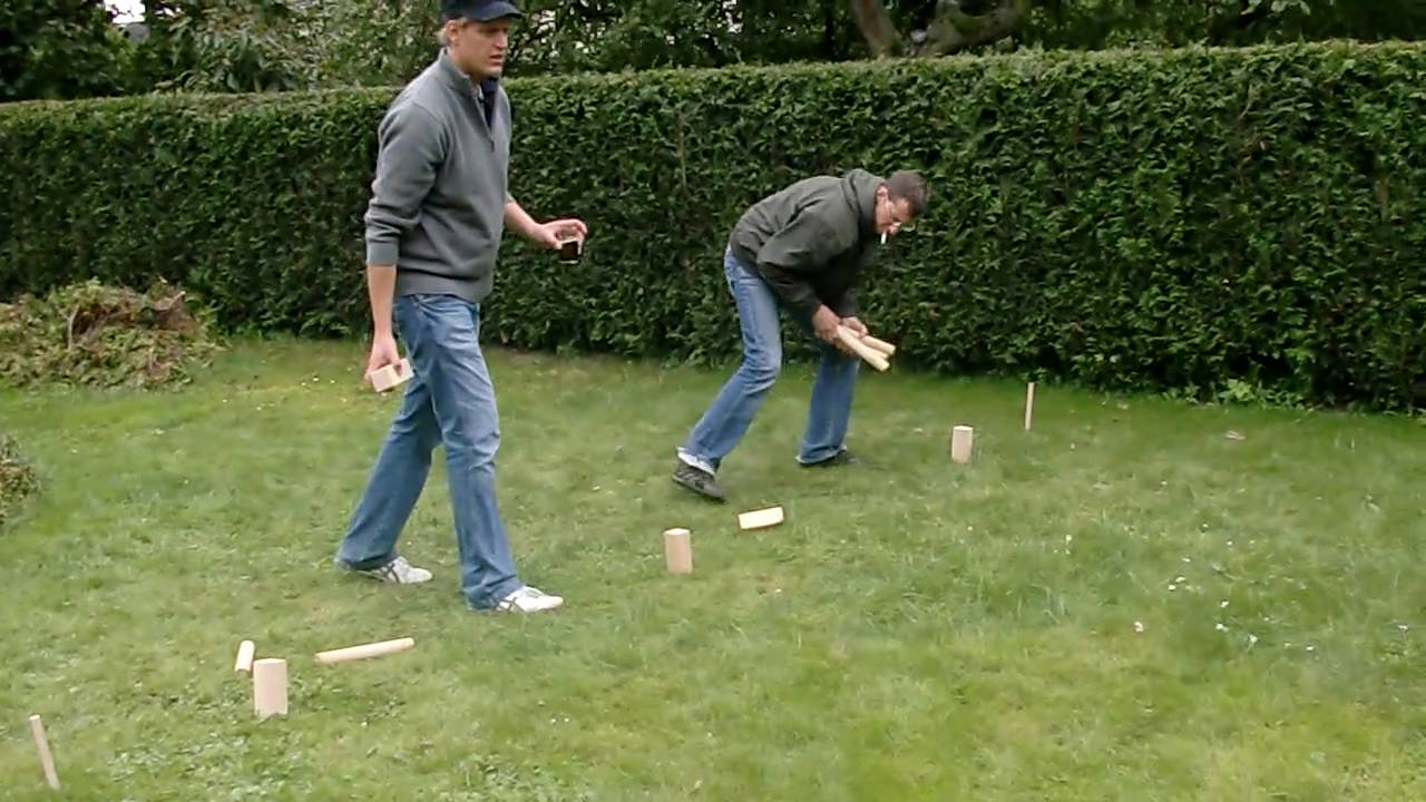 kubb duell wikinger schach youtube. Black Bedroom Furniture Sets. Home Design Ideas