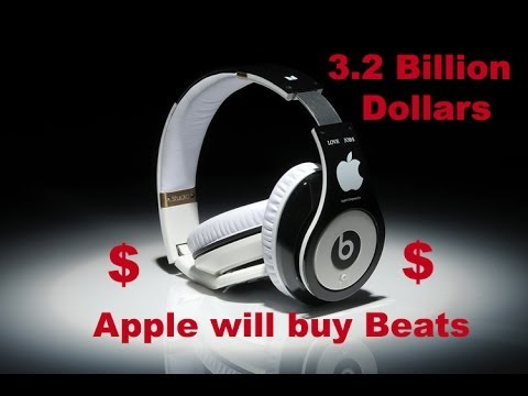Apple Will buy Dr Dre Beats Electronics for 3.2Billion dollars