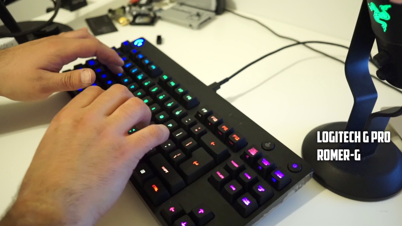 Logitech g810 orion spectrum rgb mechanical gaming keyboard review unboxing: https://wwwyoutubecom/watch