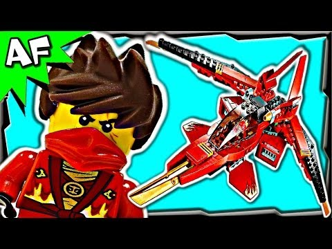 KAI FIGHTER 70721 Lego Ninjago Rebooted Animated Building Set Review