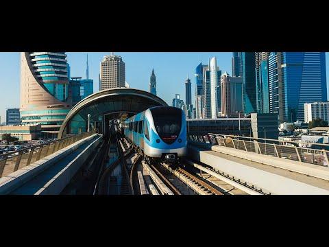 Front view @ Dubai Metro